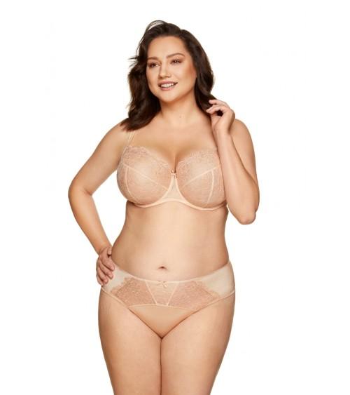 Sweter Damski Model 30060 Pink/Yellow - PeeKaBoo