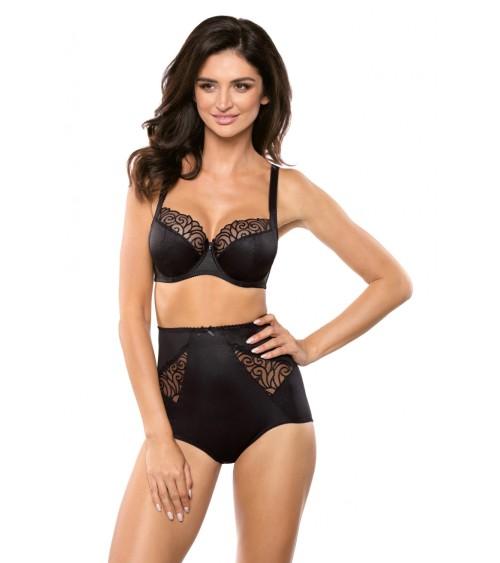 Sweter Damski Model 30060 Green/Orange - PeeKaBoo