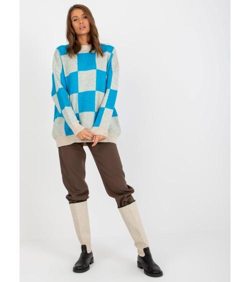 Sweter model 70003 White - PeeKaBoo