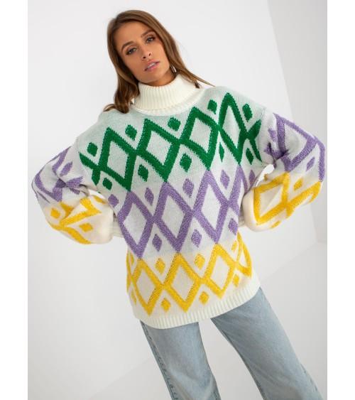 Sweter model 70003 Mustard - PeeKaBoo
