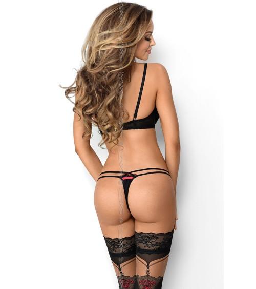 Piżama Męska Model Max 39239-18X Brown/Blue - Henderson