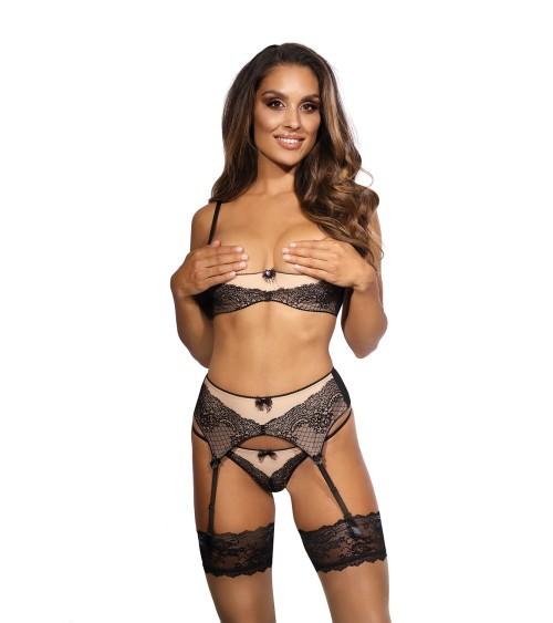 Biustonosz do karmienia Model Jasmine White - PariPari Lingerie