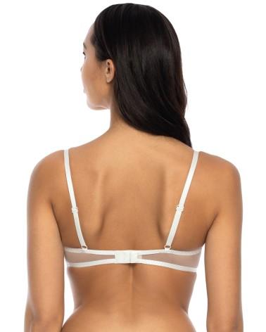 Koszulka Model Cassi White - PariPari Lingerie