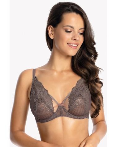 Biustonosz Soft Model Athina White - PariPari Lingerie