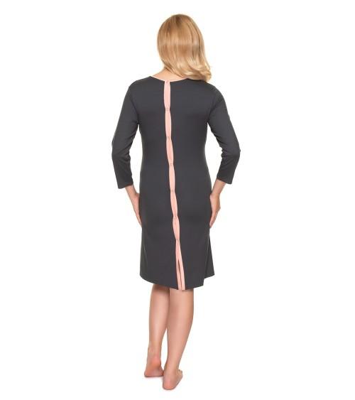 Płaszcz Model M832 Brown Melange - Figl