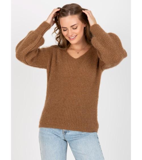 Płaszcz Model M814 Brown - Figl