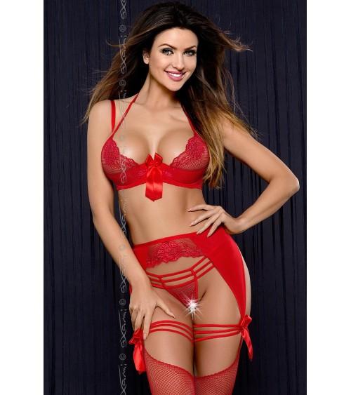 Sweter Damski Model BK073 Navy - BE Knit