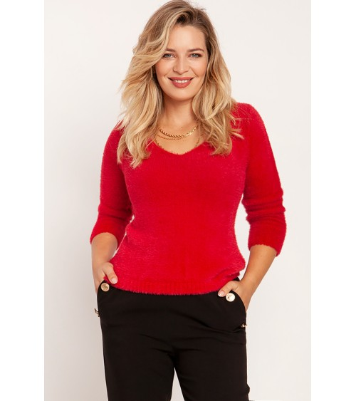 Sweter Damski Model BK071 Model 1 - BE Knit