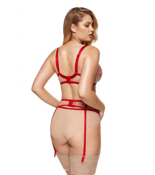 Buty sportowe na koturnie czarne RQ316 BLACK - Inello