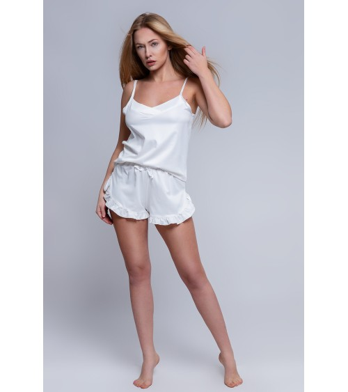 Bluzka Model BL 1068 White/Grey/Pink - Hajdan
