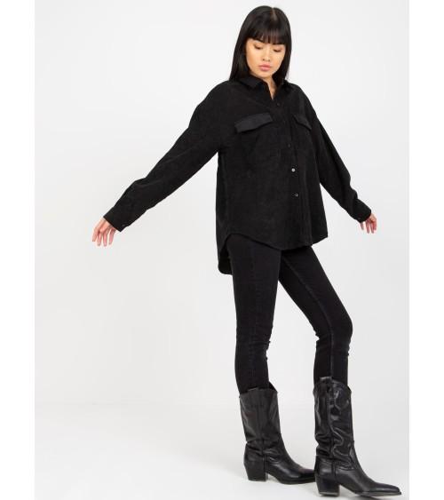 Buty sportowe skarpetkowe czarne 85-736 BLACK - Inello