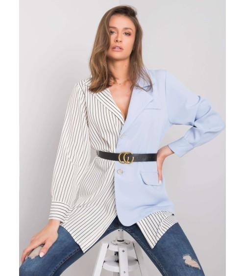 Klasyczne spodnie ze zwężanymi nogawkami SD62 Black - Nife