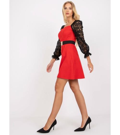 Elegancki portfel damski ze skóry PPD9 Red - Verosoft