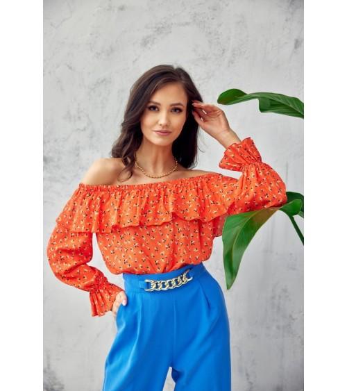 Sukienka Model CS27 Flowers/Navy - Colett